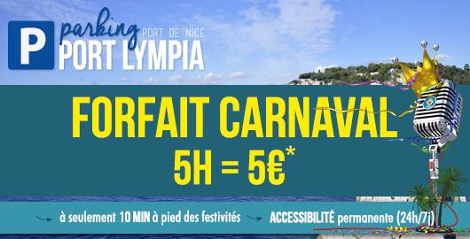 Offre carnaval au parking port lympia - Parking port nice ...