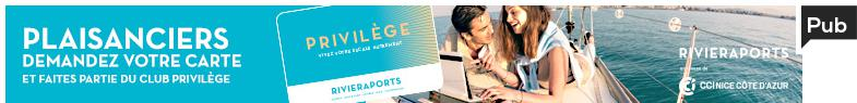 Campagne privilège Riviera Ports 2017